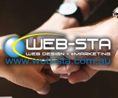 Web-Sta Web Design + eMarketing Newsletter Banner