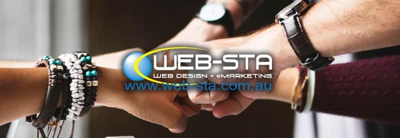 Web-Sta Web Design + eMarketing Newsletter Banner