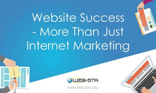 Website Success - More Than Just Internet Marketing