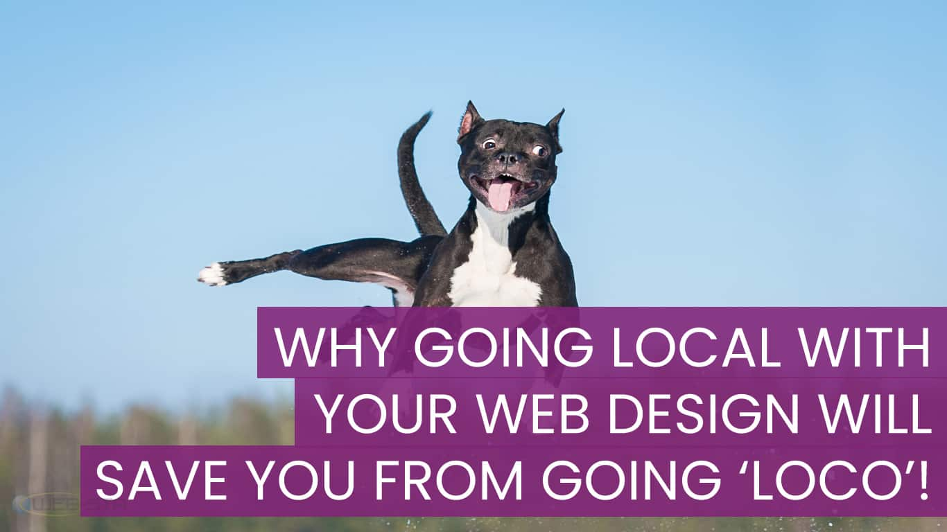 Why Going Local With Your Web Design Will Save You From going 'Loco'!