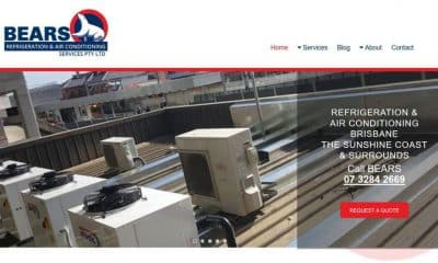 Bears Refrigeration Website