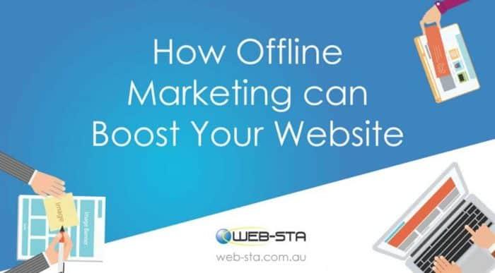 How Offline Marketing can Boost Your Website