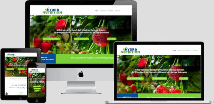 Brisbane Web Design Hydro Nutrition