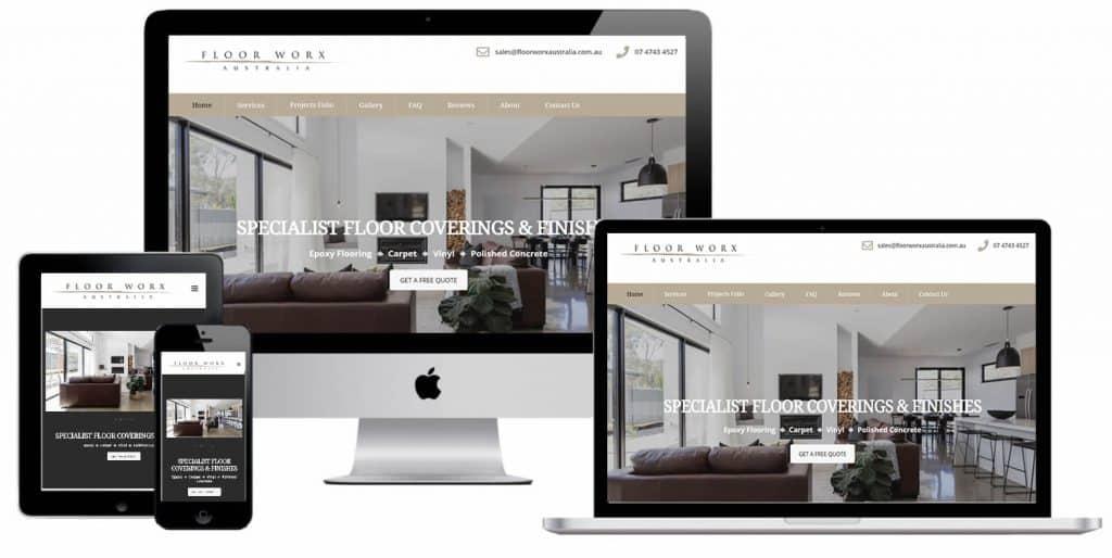 Flooring Company WordPress Web Design