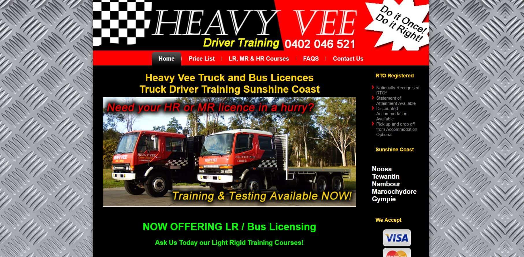 Website Edit / Revival for Driving School Website Caboolture