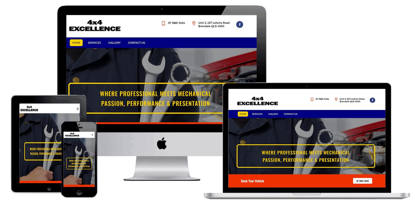 web design for mechanics