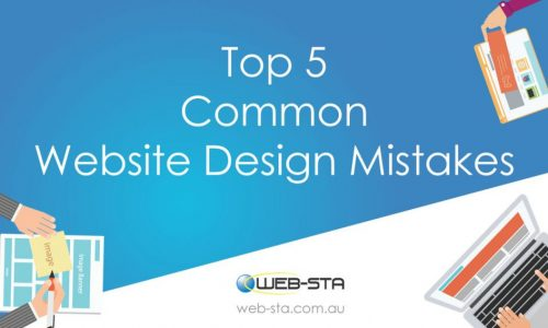 Top 5 Common Website Design Mistakes
