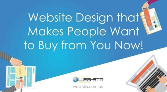 Website Design that Makes People Want to Buy from You Now