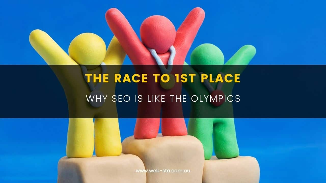 Blog The Race To 1st Place - Why SEO is Like the Olympics