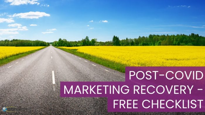 POST-COVID Marketing Recovery - Free Checklist