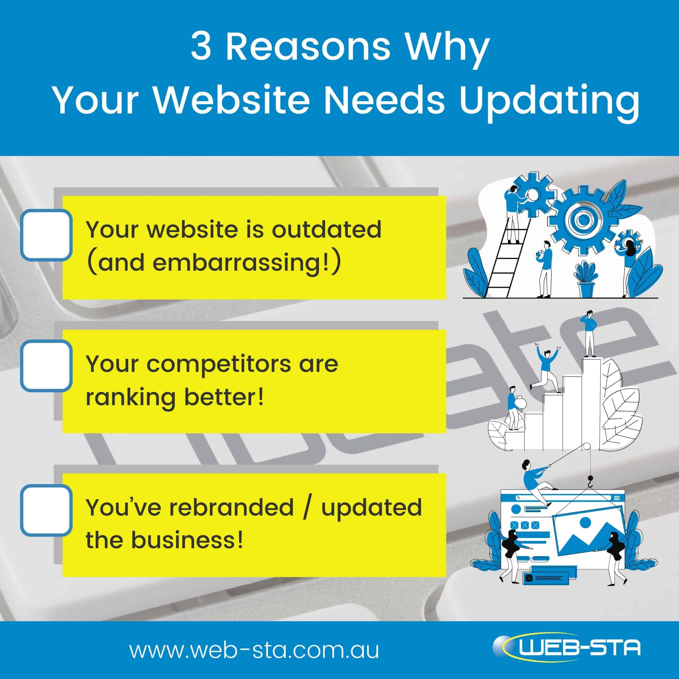 Website design and development and why it needs updating