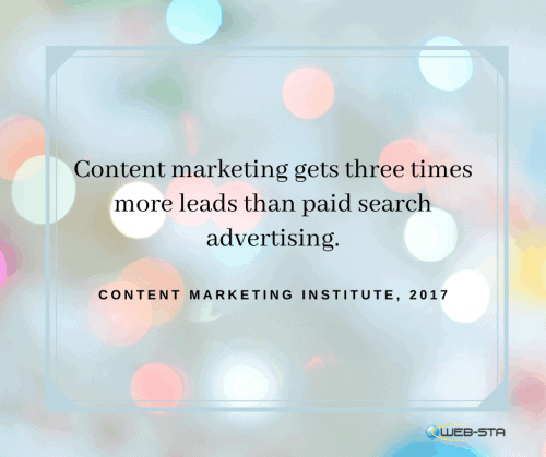 Content marketing get more leads