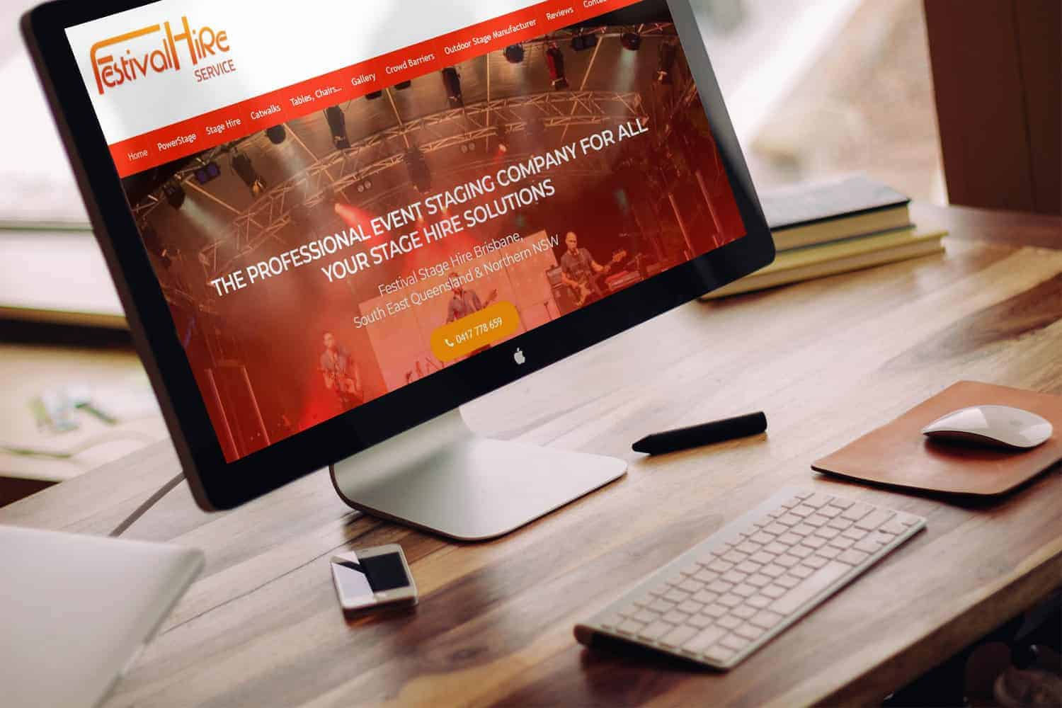 Web Design for Event Hire Companies by Web-Sta_tn