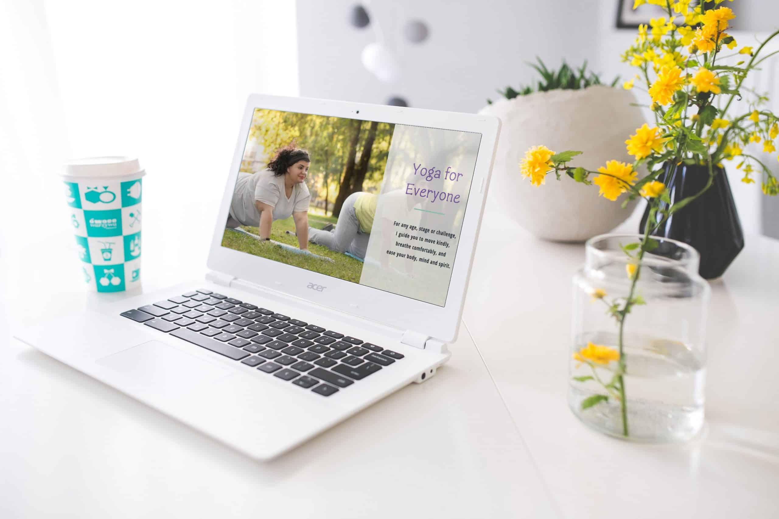 Yoga Studio website design Brisbane north