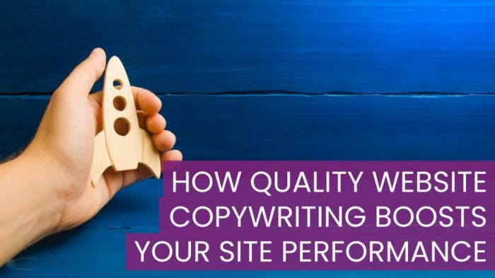 How Quality Website Copywriting Boosts Your Site Performance