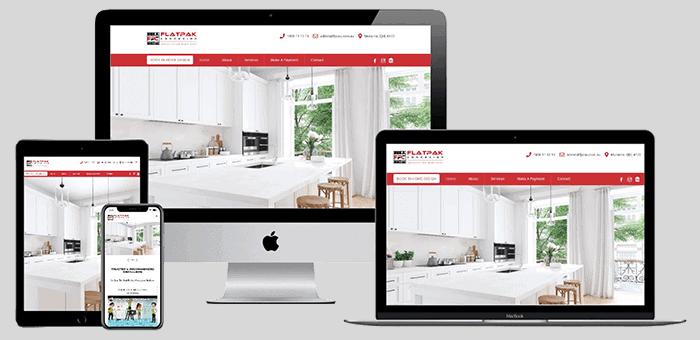 Kitchen Company Website
