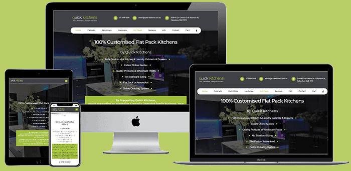 Quick Kitchens Website