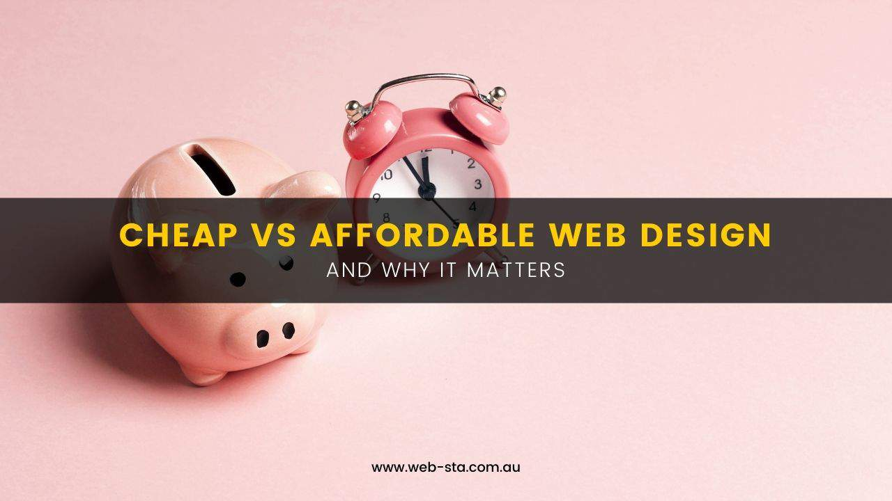 Blog - Cheap vs Affordable Web Design
