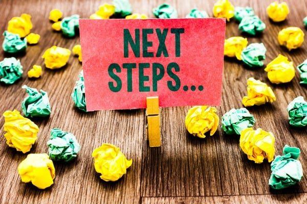 Next Steps - Website planning