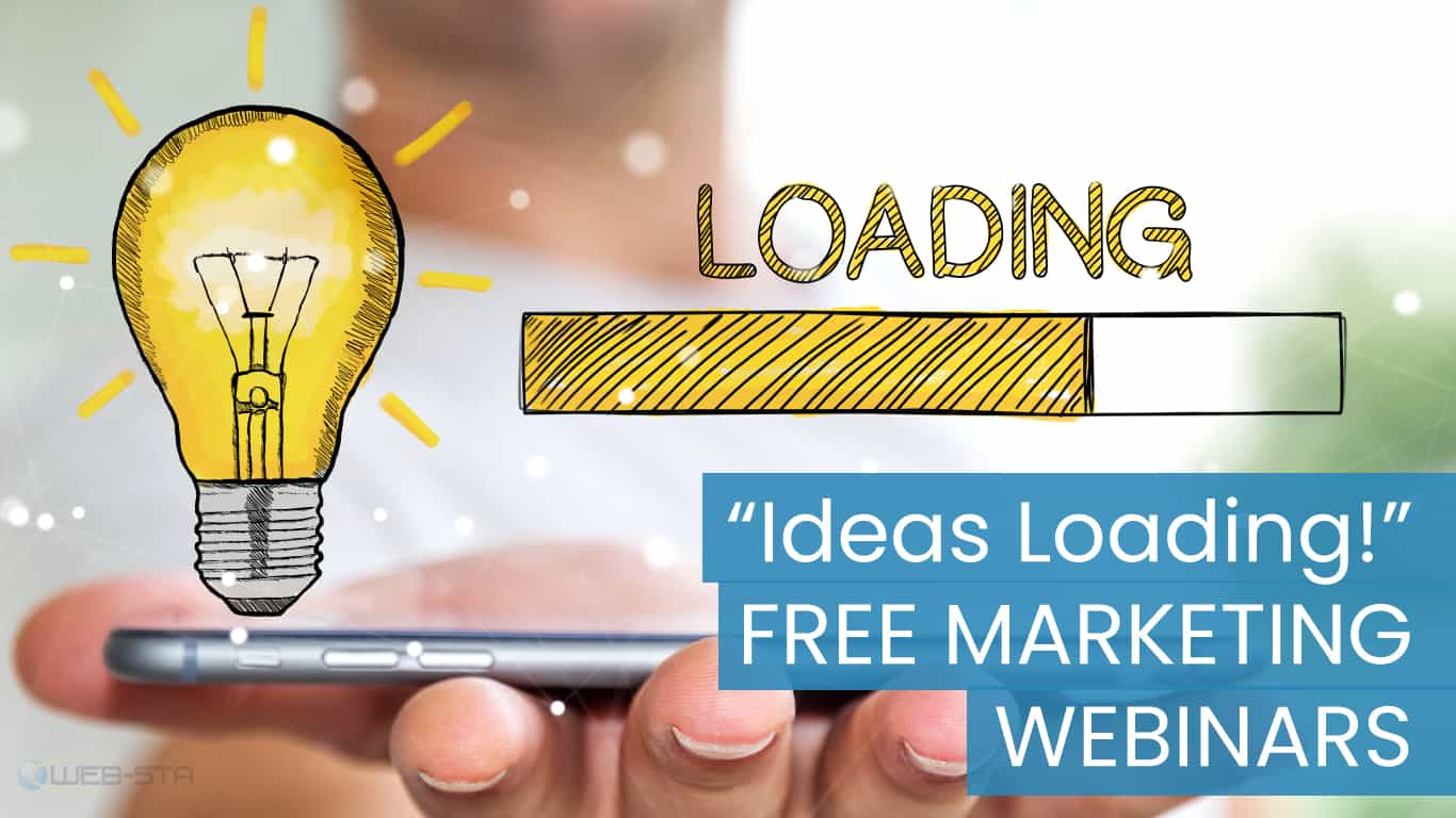"FREE eMarketing Webinar | ""Ideas Loading"""