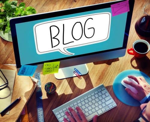 Blogging and building an email marketing database