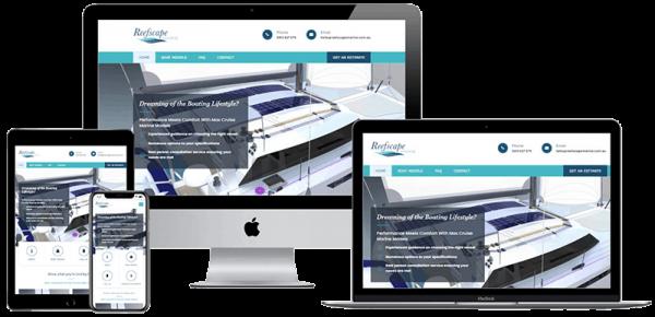 Reefscape Marine website