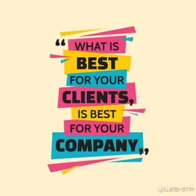Quality Web Design is good for your customers