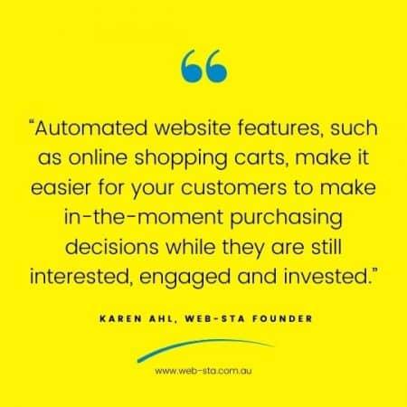 WordPress Web Design for online shopping carts