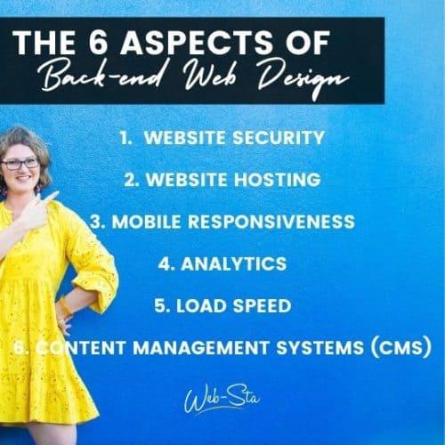 website developers explain 6 aspects of back end web design
