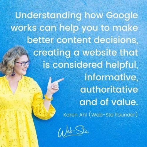 Google-focused website marketing strategies