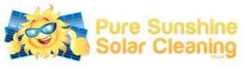 Pure Sunshine Solar Cleaning Logo
