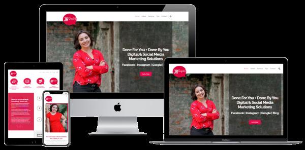 JR Digital Marketing Website