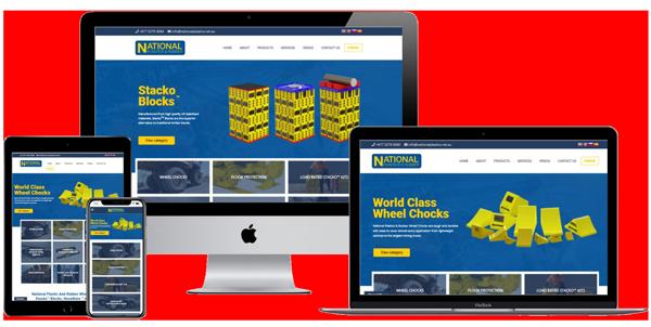 National Plastics & Rubber Website by Web-Sta