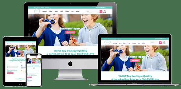 Twigs Toy Boutique Website